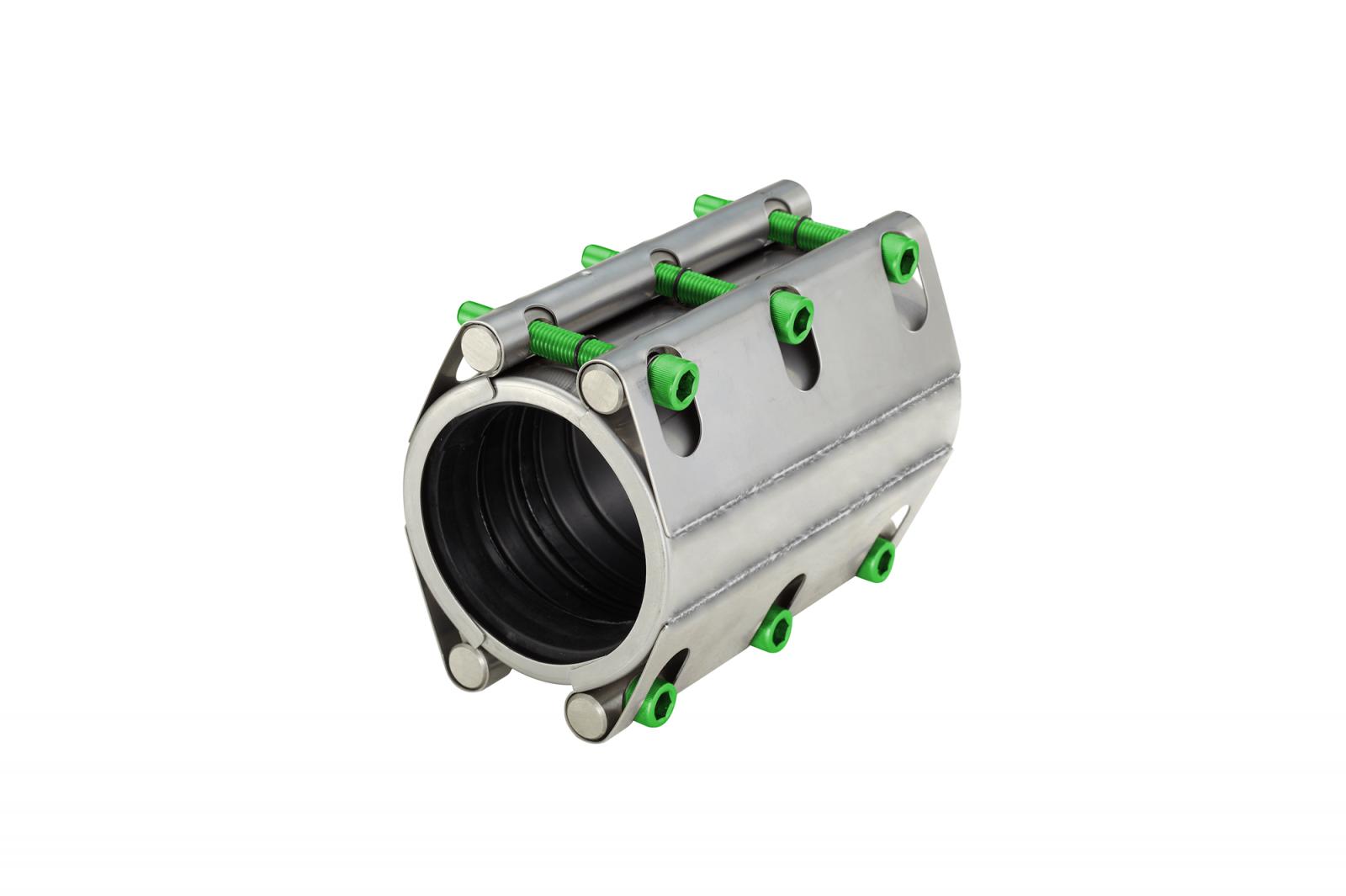Repair coupling with two locks long version (RSDL) | AVK Repico