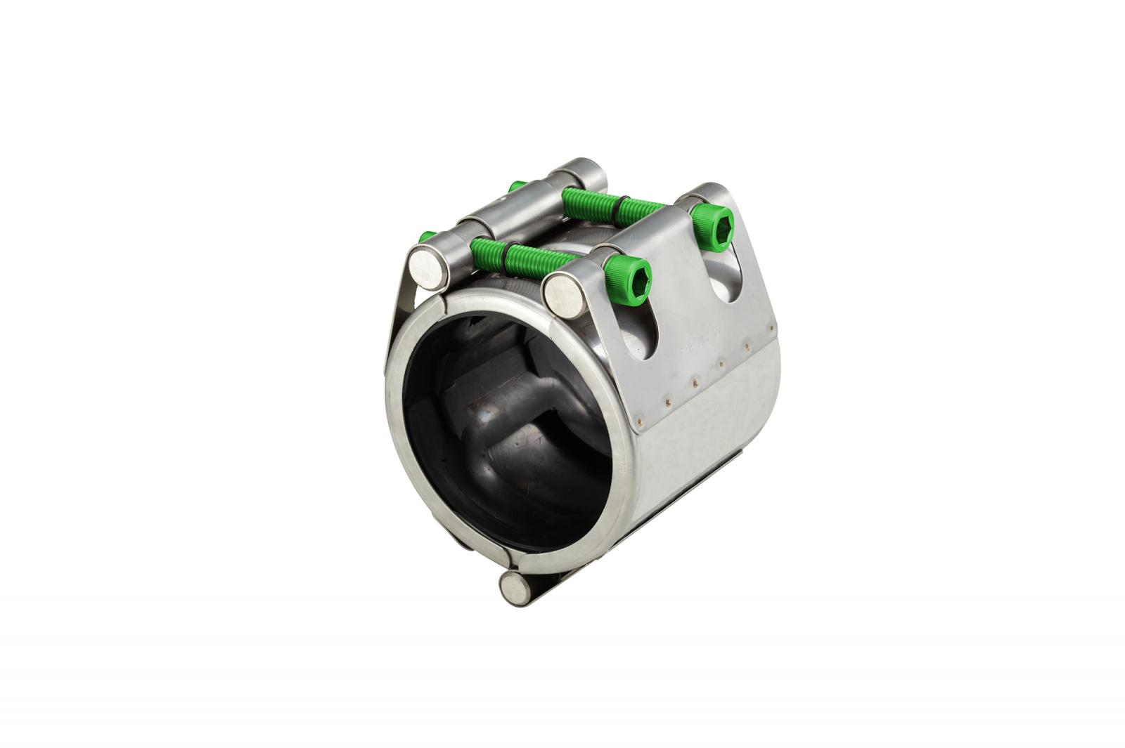 Hinge type repair clamp (RH) | AVK Repico | AVK Rewag