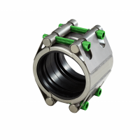 Repair coupling with two locks high pressure (RSDF) | AVK Repico | AVK Rewag