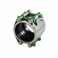 Slip type coupling with two locks high pressure (SDF) | AVK Repico | AVK Rewag