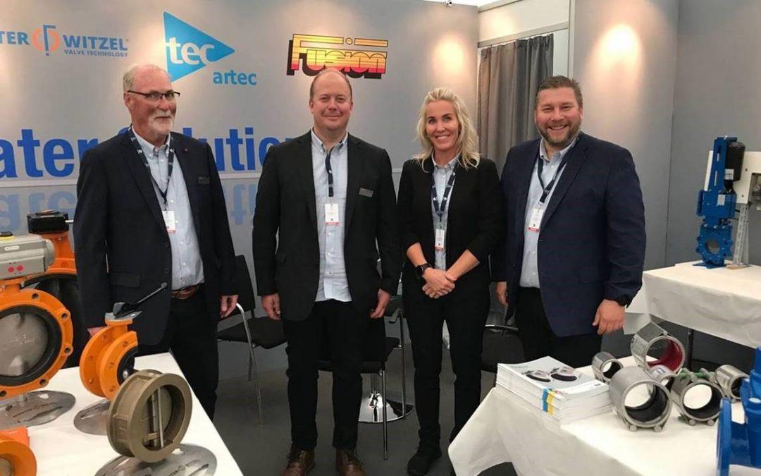 AVK Norge promoted Repico® couplings at Aqua Nor