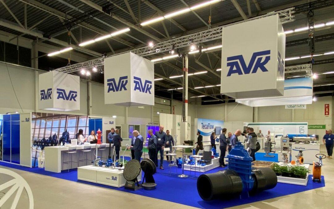 AVK Rewag present at Infratech in Finland
